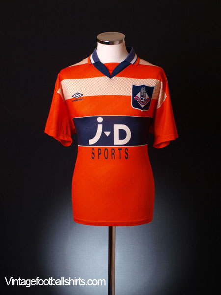 1995-96 Oldham Away Shirt L