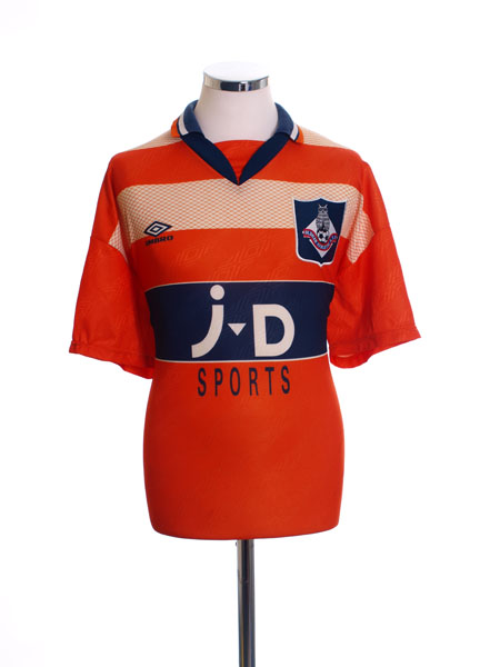 1995-96 Oldham Away Shirt M