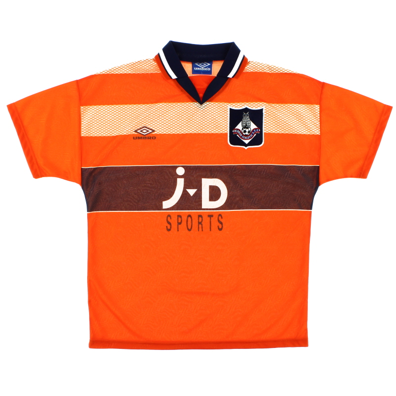 1995-96 Oldham Away Shirt Y
