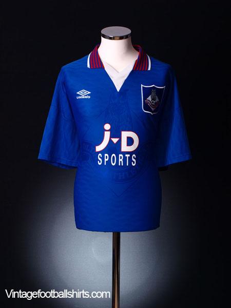 1995-96 Oldham Home Shirt XXL