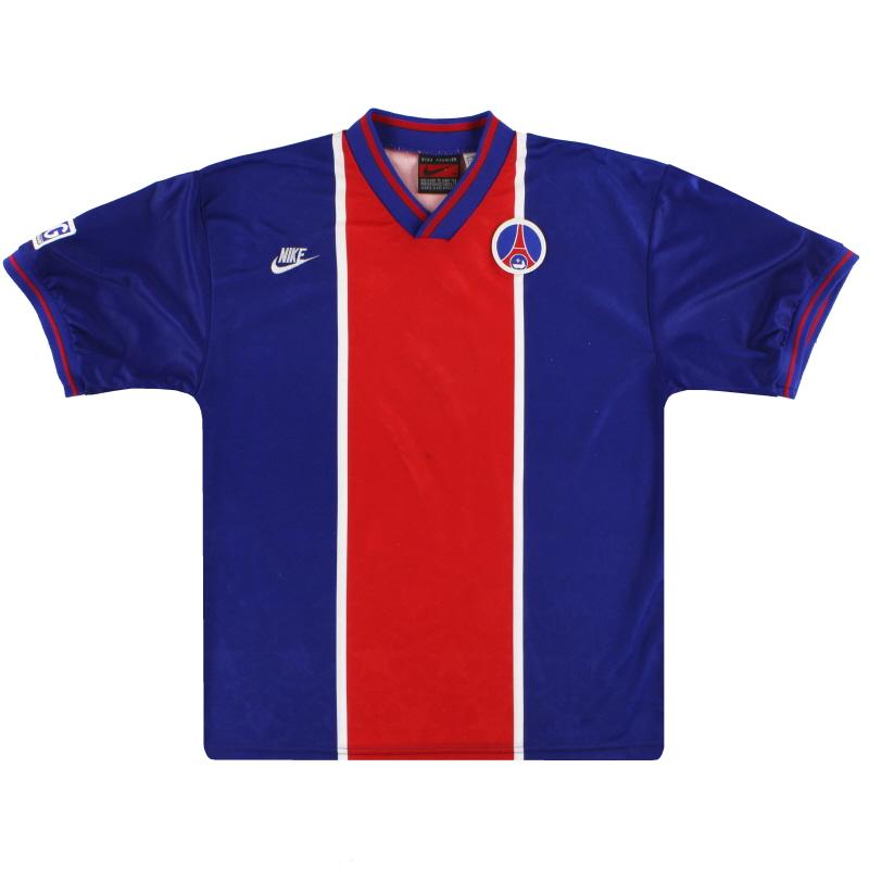1995-96 Paris Saint-Germain Nike Player Issue Home Shirt M