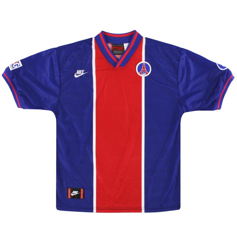 1995-96 Paris Saint-Germain Nike Home Shirt L