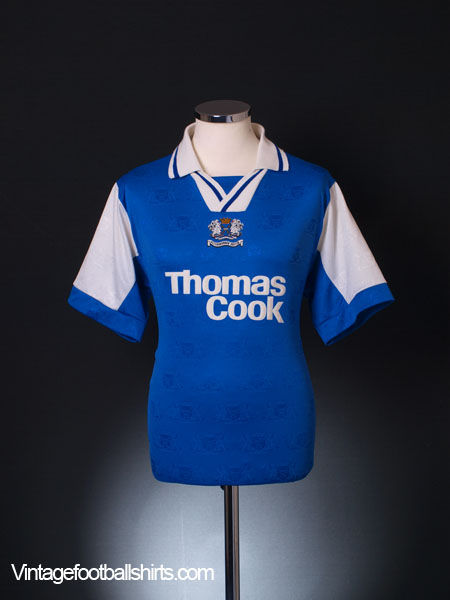 1995-96 Peterborough Home Shirt M