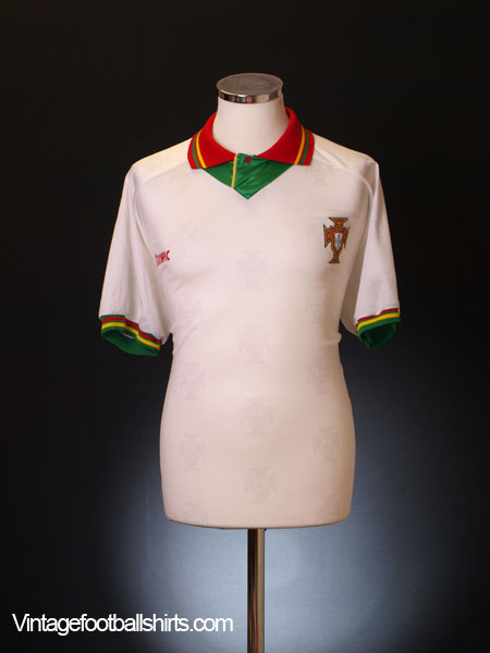 1995-96 Portugal Away Shirt XL