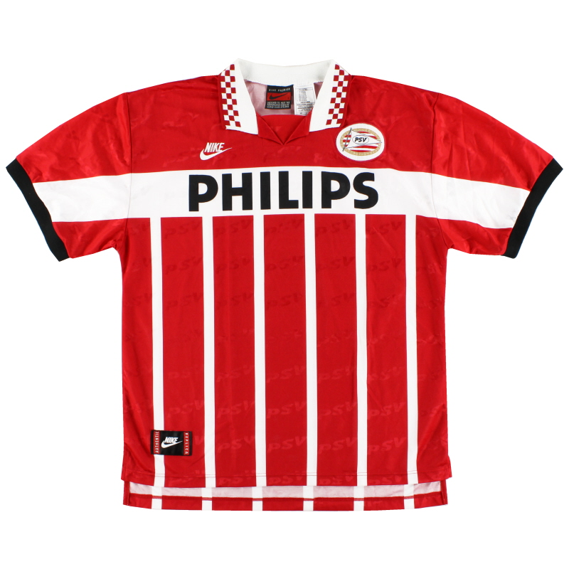 1995-96 PSV Eindhoven Home Shirt *Mint* L