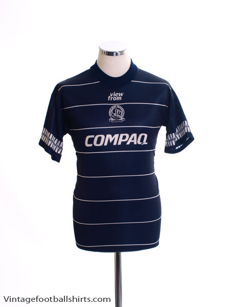 1995-96 QPR Away Shirt S
