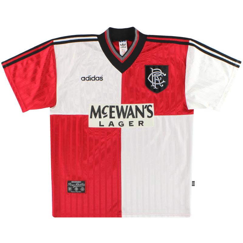 1995-96 Rangers adidas Away Shirt L