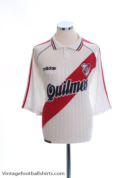 1995-96 River Plate Home Shirt XL