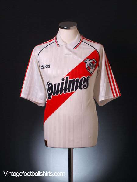1995-96 River Plate Home Shirt XXL