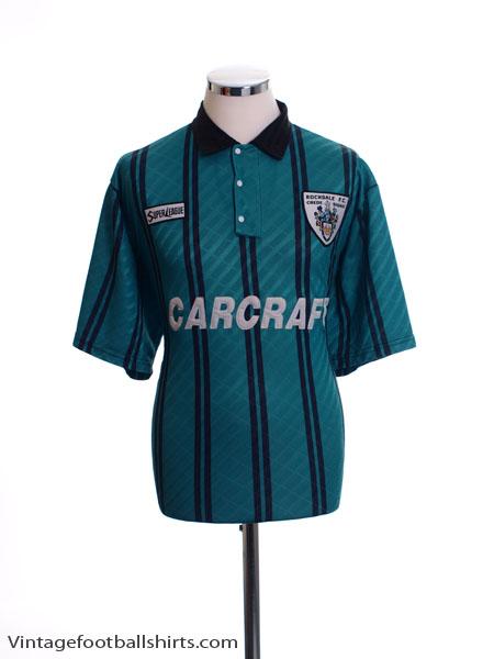 1995-96 Rochdale Away Shirt L