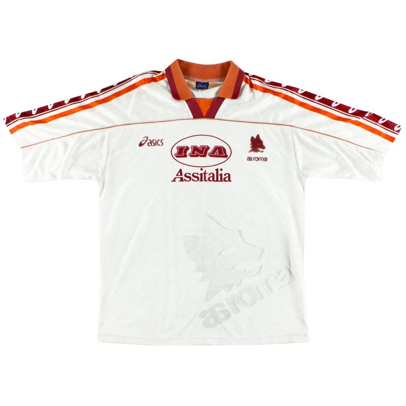 1995-96 Roma Away Shirt L