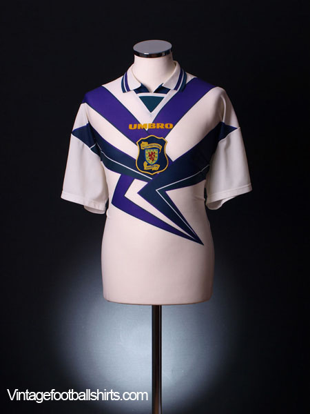 1995-96 Scotland Away Shirt *BNIB* L