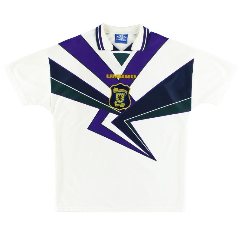 1995-96 Scotland Away Shirt L