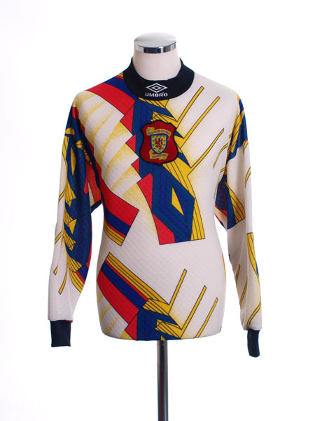 1995-96 Scotland Goalkeeper Shirt M