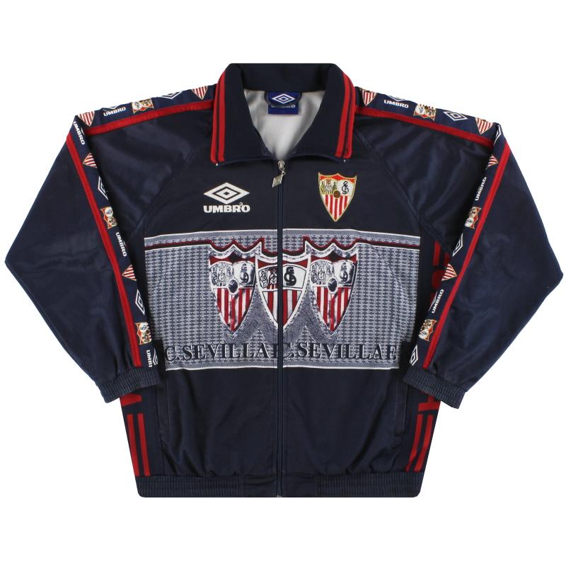 1995-96 Sevilla Umbro Track Jacket S