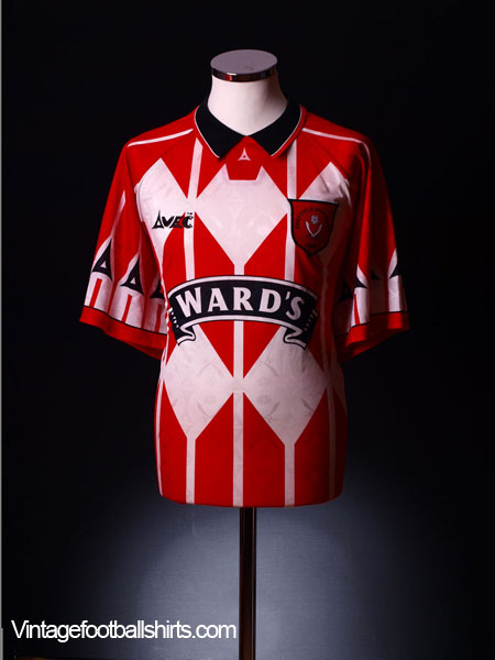 1995-96 Sheffield United Home Shirt S