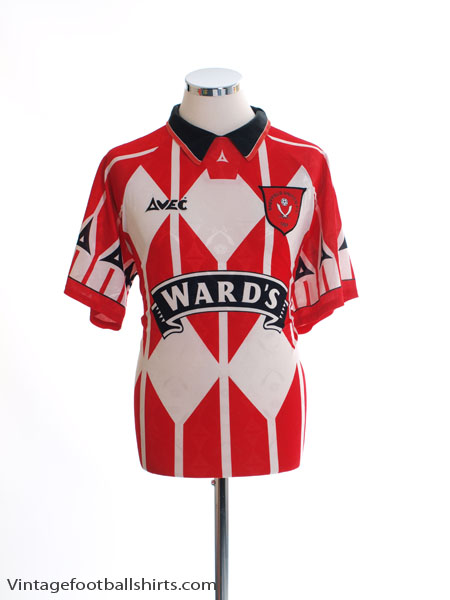 1995-96 Sheffield United Home Shirt *Mint* L