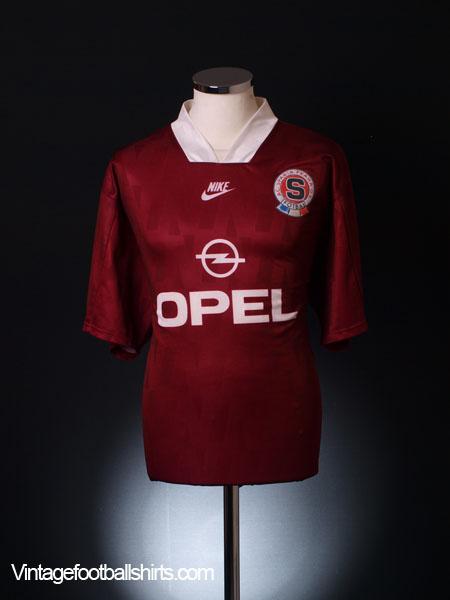 1995-96 Sparta Prague Home Shirt XXL