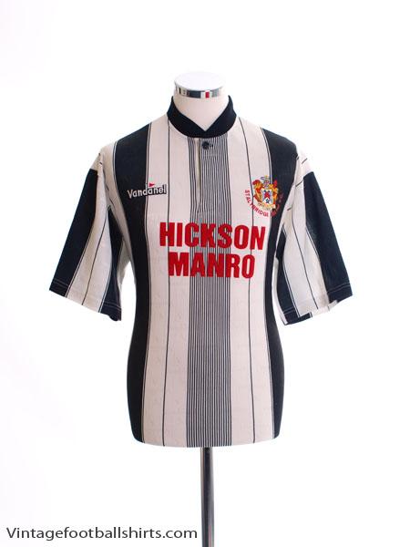 1995-96 Stalybridge Celtic Away Shirt M