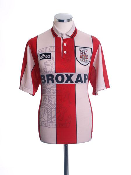 1995-96 Stoke City Home Shirt S