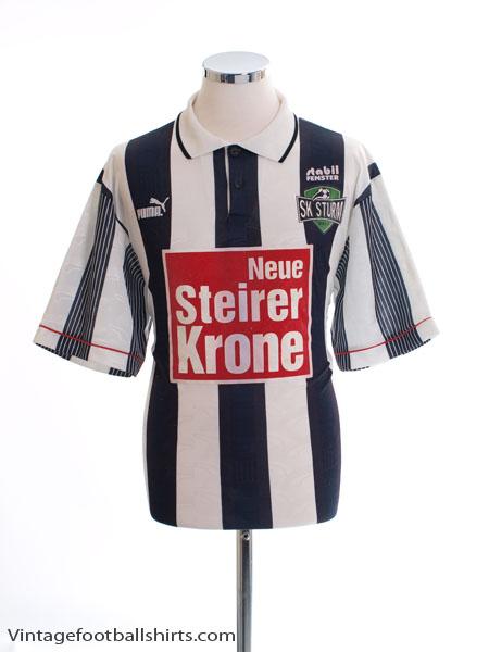 1995-96 Sturm Graz Home Shirt L