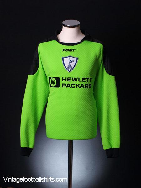 1995-96 Tottenham Goalkeeper Shirt *As new* XL