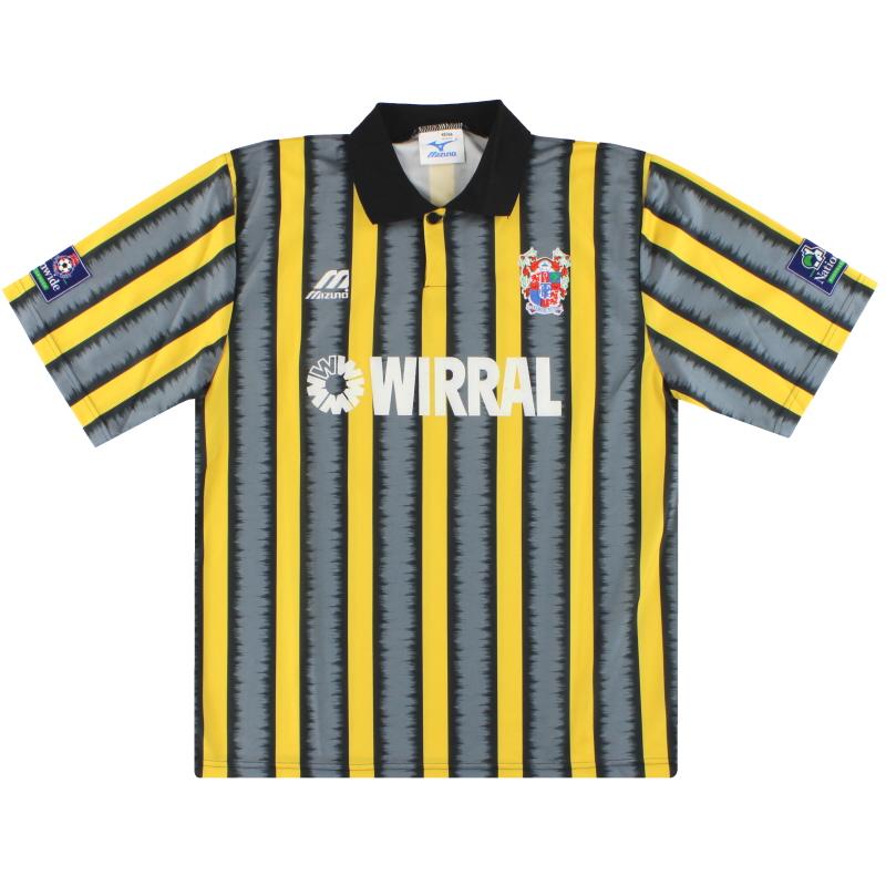 1995-96 Tranmere Rovers Third Shirt L
