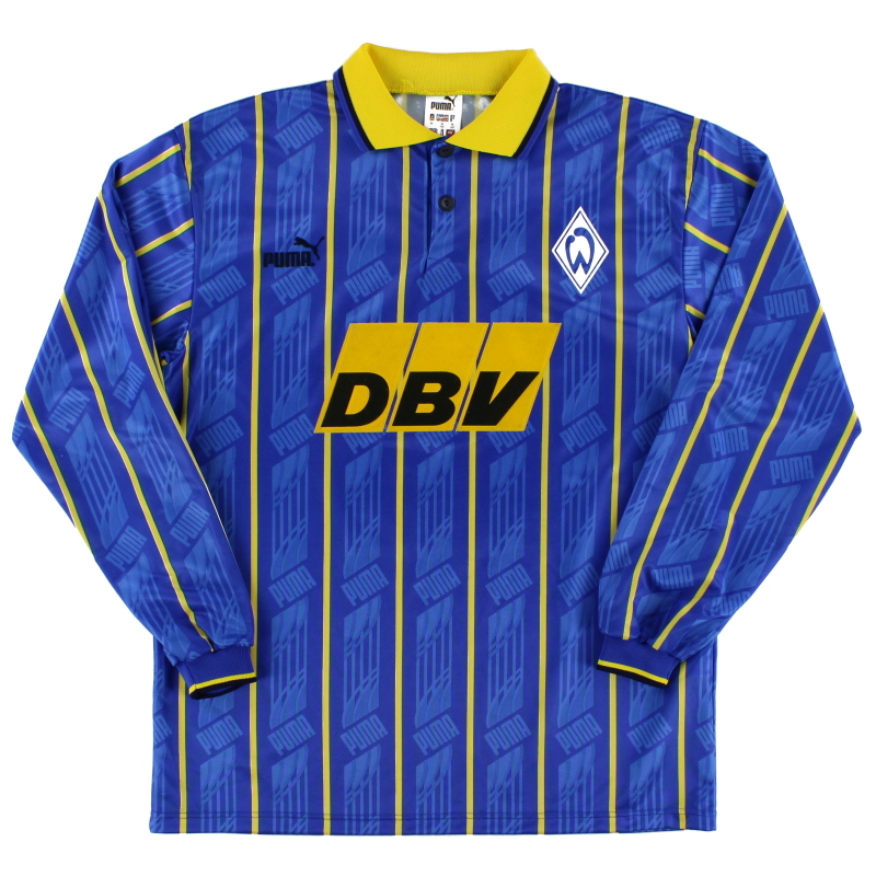 1995-96 Werder Bremen Away Shirt L/S XS