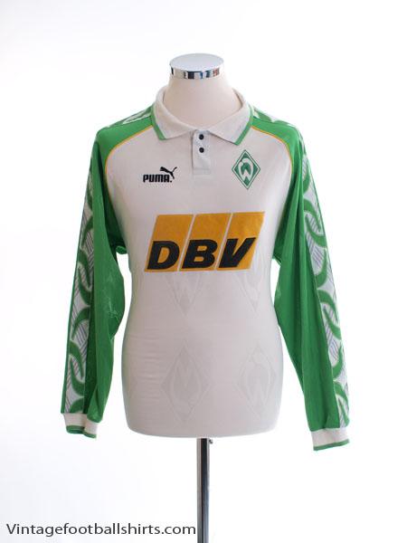 1995-96 Werder Bremen Home Shirt L/S S