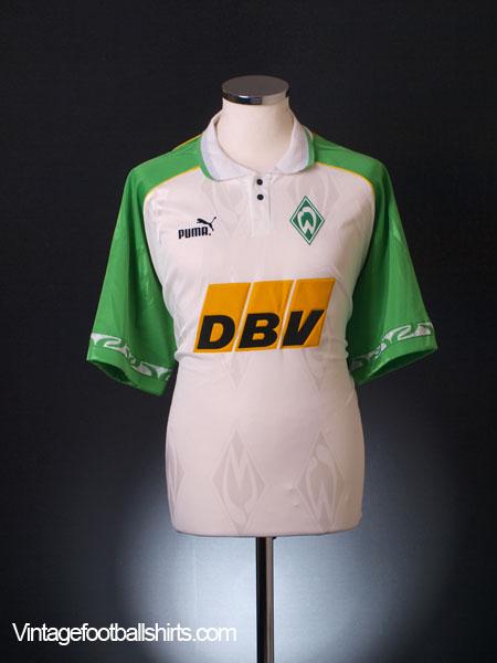 1995-96 Werder Bremen Home Shirt L