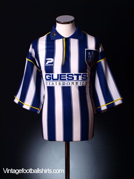 1995-96 West Brom Home Shirt XL