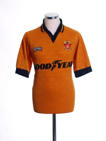1995-96 Wolves Home Shirt M