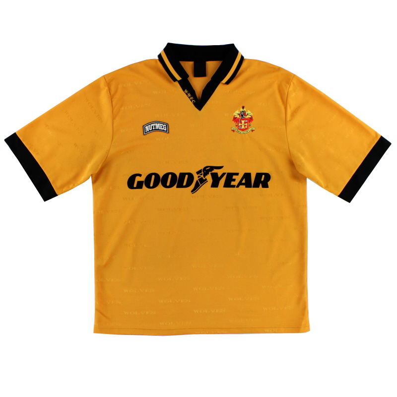 1995-96 Wolves Home Shirt L