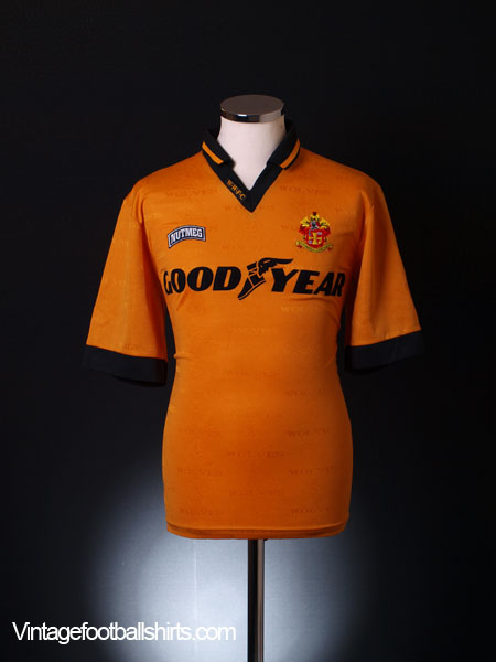 1995-96 Wolves Home Shirt XL
