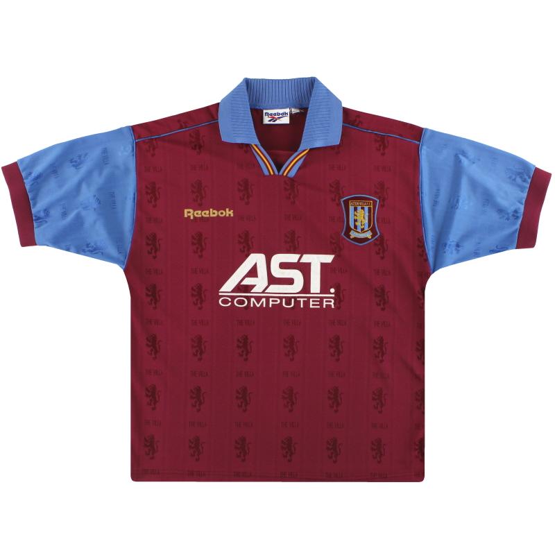 1995-97 Aston Villa Reebok Home Shirt XL