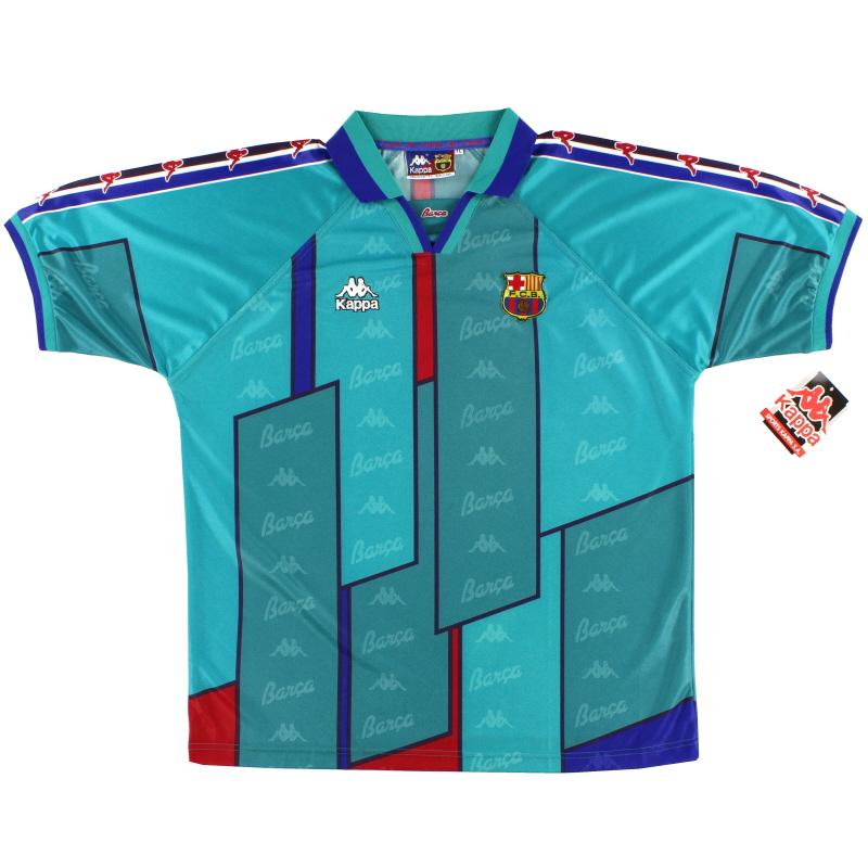 1995-97 Barcelona Away Shirt *BNIB* XL