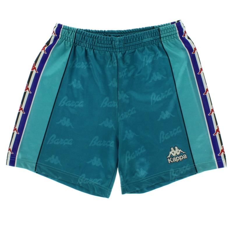 1995-97 Barcelona Away Shorts S