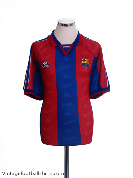1995-97 Barcelona Home Shirt XL
