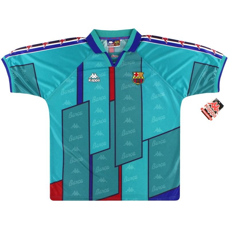 1995-97 Barcelona Kappa Away Shirt *w/tags* S