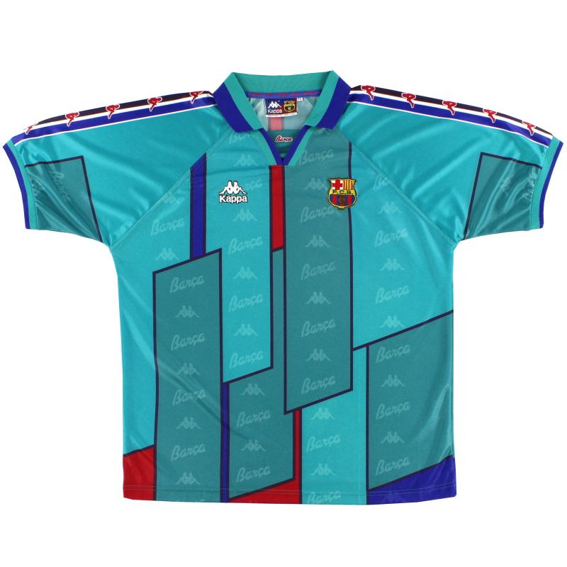 1995-97 Barcelona Kappa Away Shirt S