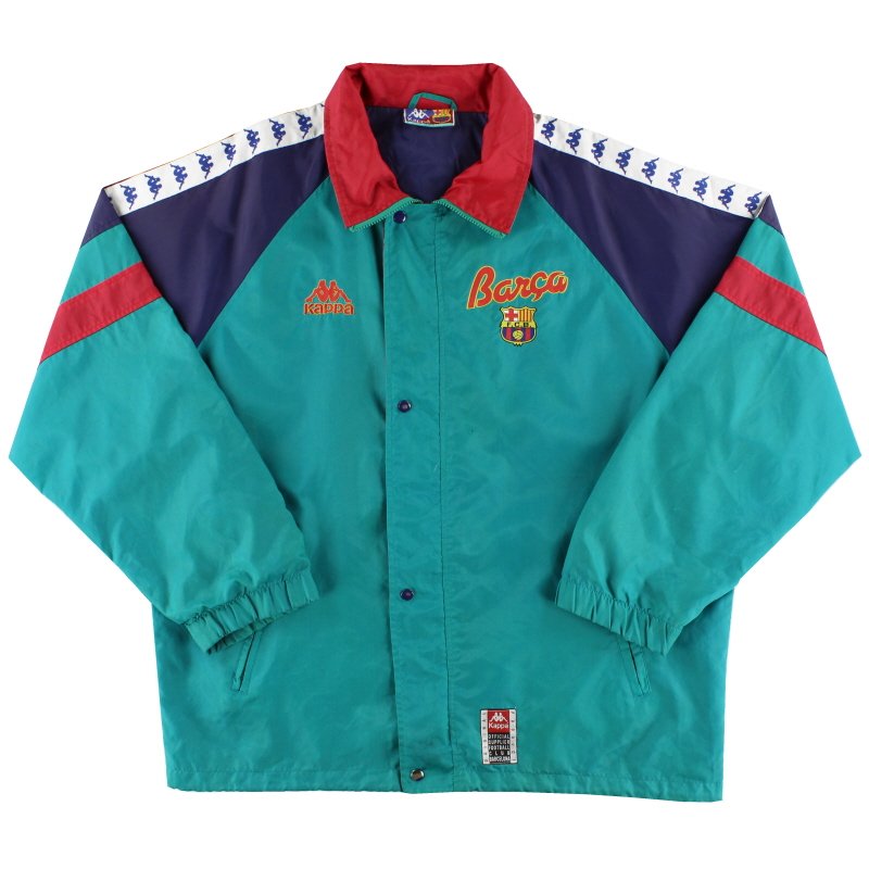 1995-97 Barcelona Kappa Rain Jacket XL