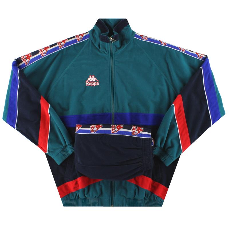 1995-97 Barcelona Kappa Tracksuit L