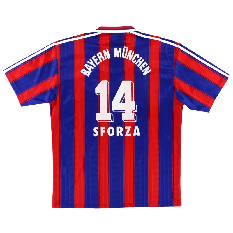 1995-97 Bayern Munich Home Shirt Sforza #14 L