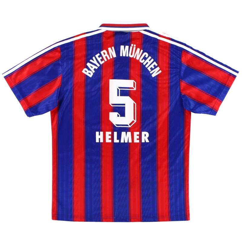 1995-97 Bayern Munich Home Shirt Helmer #5 M