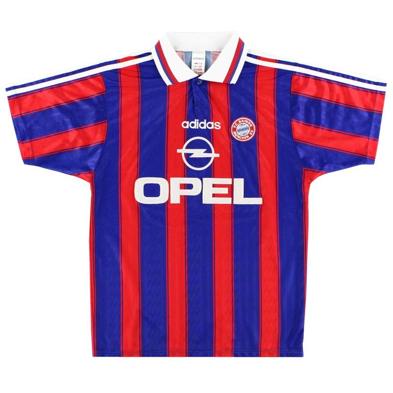 1995-97 Bayern Munich adidas Home Shirt S