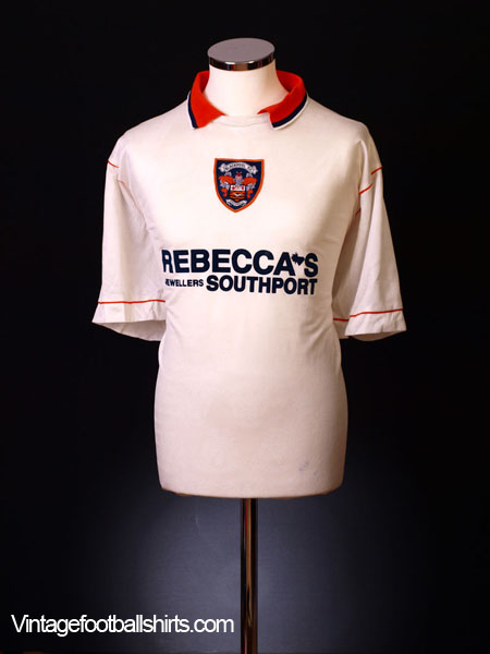1995-97 Blackpool Away Shirt XL
