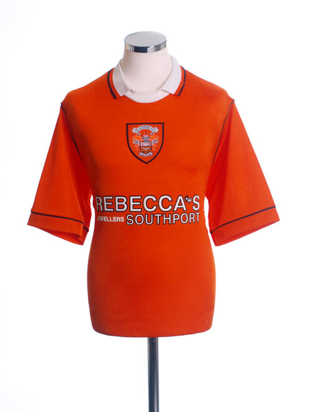 1995-97 Blackpool Home Shirt S