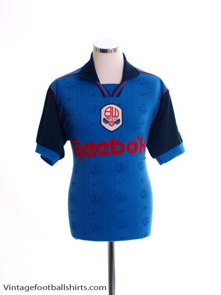 1995-97 Bolton Away Shirt *Mint* M