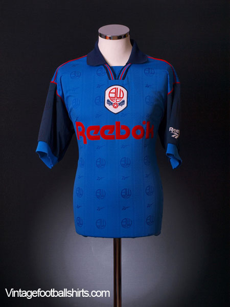 1995-97 Bolton Away Shirt S