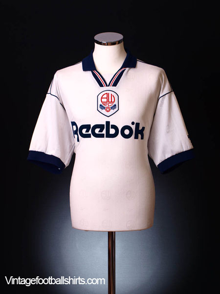 1995-97 Bolton Home Shirt M